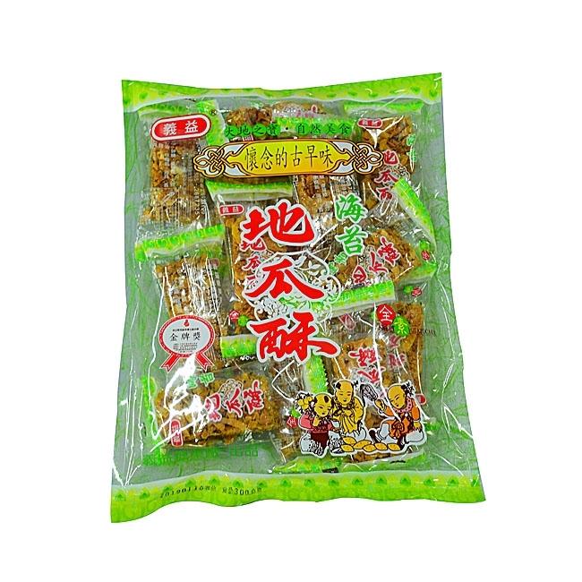 海苔地瓜酥300g